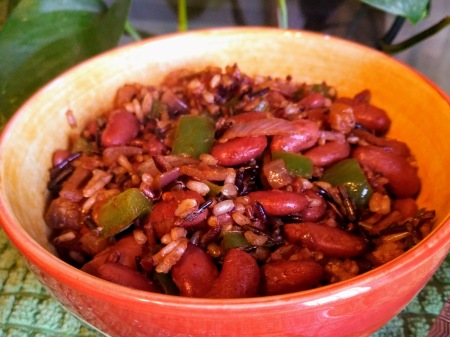 Chinquapin Parish Kidney Beans and Wild Rice