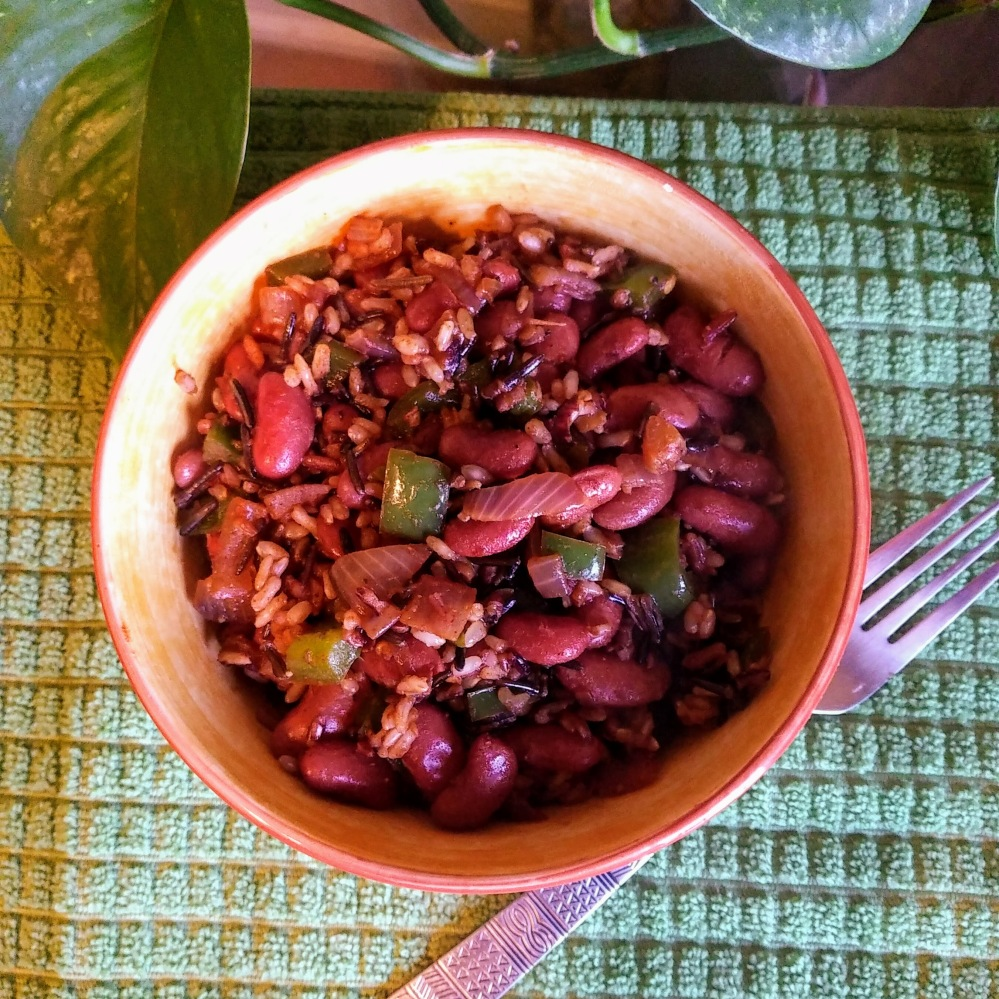 Steel Magnolias Inspired Kidney Beans and Wild Rice
